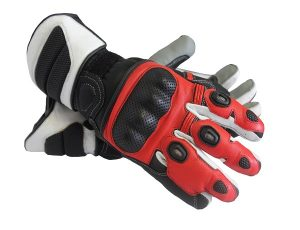 Sportbike Gloves Red MG257 Pro TPR Gloves Red MG257 Pro TPR Gloves
