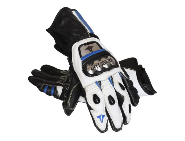 Gloves MG272 Titanium Blue Kangaroo Gloves MG272 Titanium Blue Kangaroo Gloves